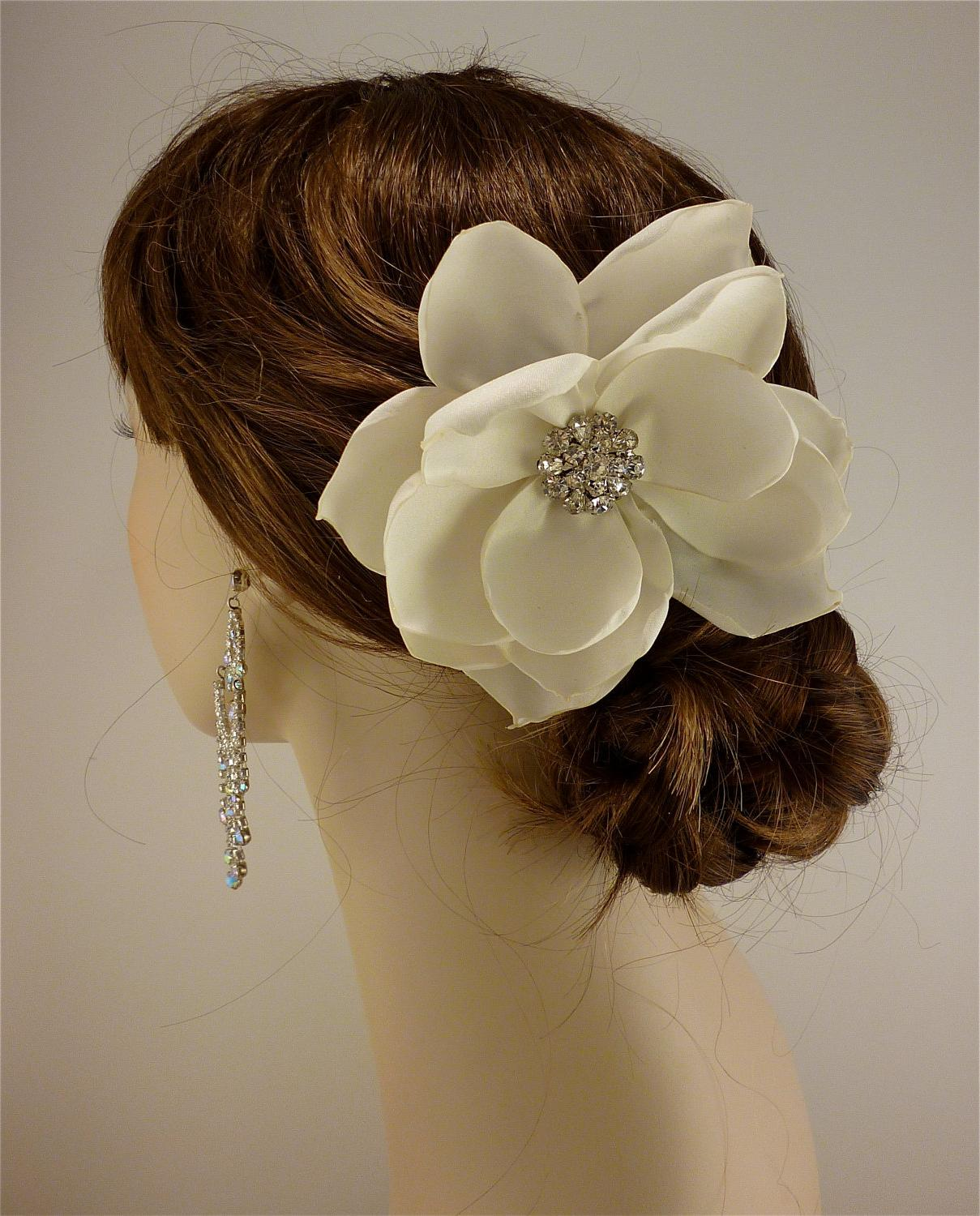 Bridal Fascinator, Ivory or