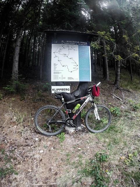 Klipberg, neďaleko Sedla pod Krompašským vrchom.