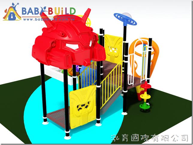 BabyBuild 室內鋼管遊具設計