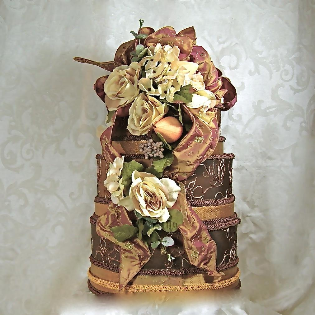 Bronze Wedding Card Box,