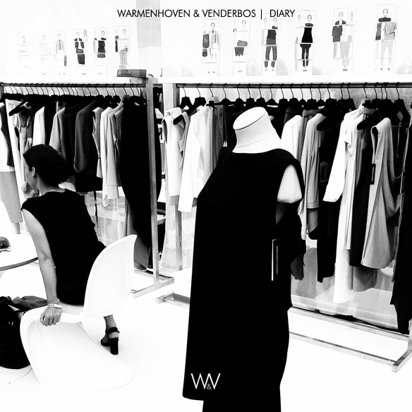 Spring Summer 2014 fashion Diary 160613 | Behind the scenes fashion snapshots | Modefabriek sales |