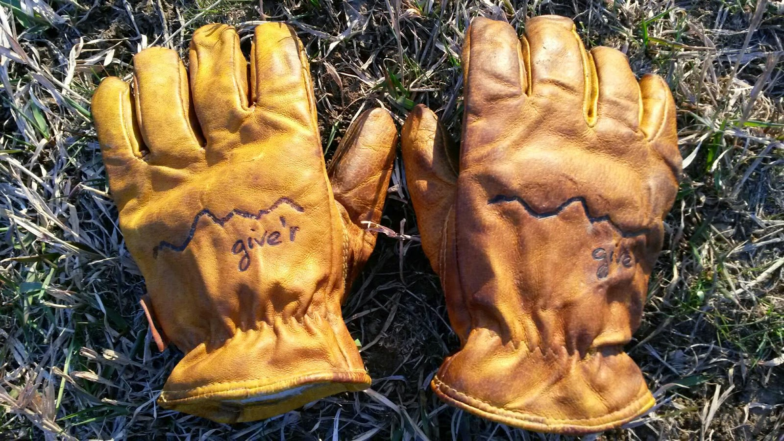 Leather work gloves grainger - Where I E From Give R Gloves The Most Er