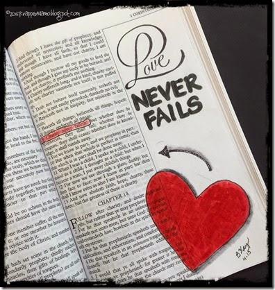 BAJ 1 Cor 13-8 Love Never Fails