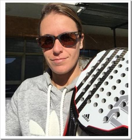 Anabel Medina tenista profesional jugará el WPT Valencia 2015 con Adidas.