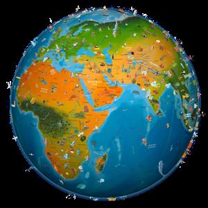 world map atlas 2020 for pc