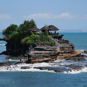Tanah Lot by Djamal Sharief - Landscapes Travel