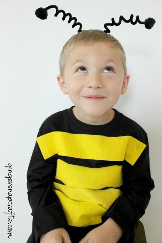 no sew bee costume