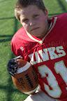 #31 Brad Dueck 5'2″, 135lb, Gr8 RB/LB