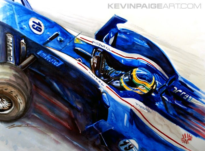 Бруно Сенна Williams FW34 by Kevin Paige