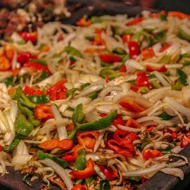 Fajita fixings by Leah N - Food & Drink Fruits & Vegetables