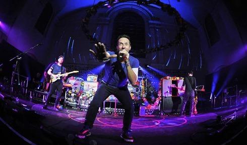 Coldplay BBC Radio 1 Special Show at St John's Hackney Church, London 1