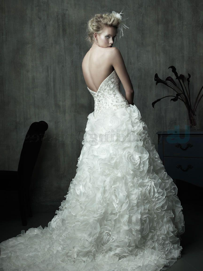 Ball Gown Organza Corseted