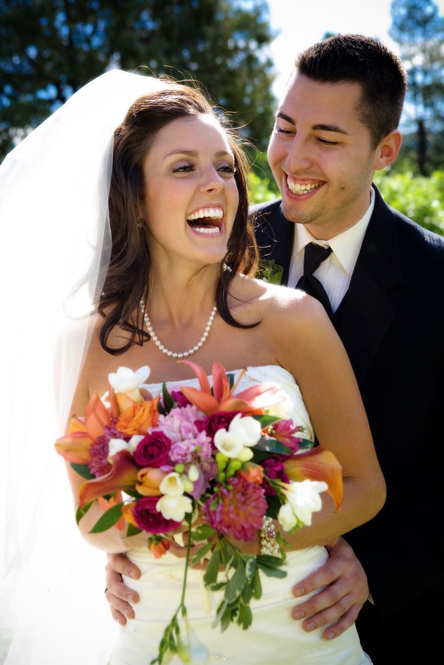 Summer Colors Wedding Flowers