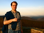 Here I am at the summit of Hawksbill Mountain, Shenandoah National Park in Virginia, in April 2009.