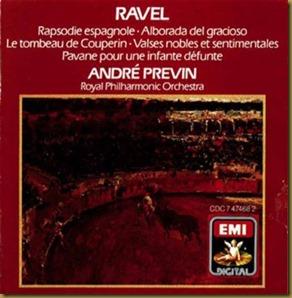 Ravel Rapsodia Previn RPO