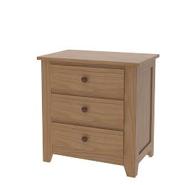 Shaker Nightstand with Drawers