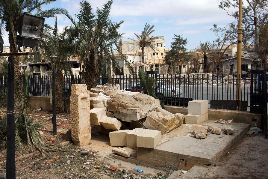 Grim new details of damage at Palmyra museum