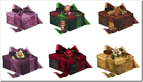 Exquisite gift box PSD File