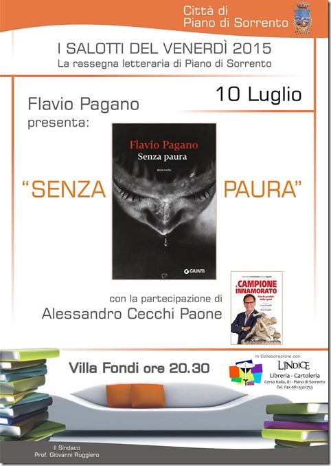 Manifesto - Salotto Flavio Pagano e Alessandro Cecchi Paone