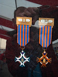 De linker-medaille is ons doel van deze week.
