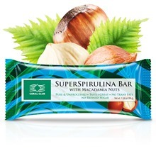 SuperSpirulina Bar with Macadamia Nuts / СуперСпирулина Бар с орехом макадамии