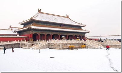 Forbiden City X Snow 紫禁城。雪 via Visit Beijing page on FB 02