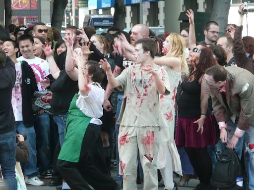 Zombie attack in San Francisco