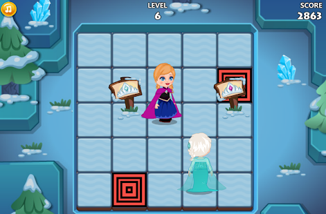 Elsa Maze Adventure - screenshot