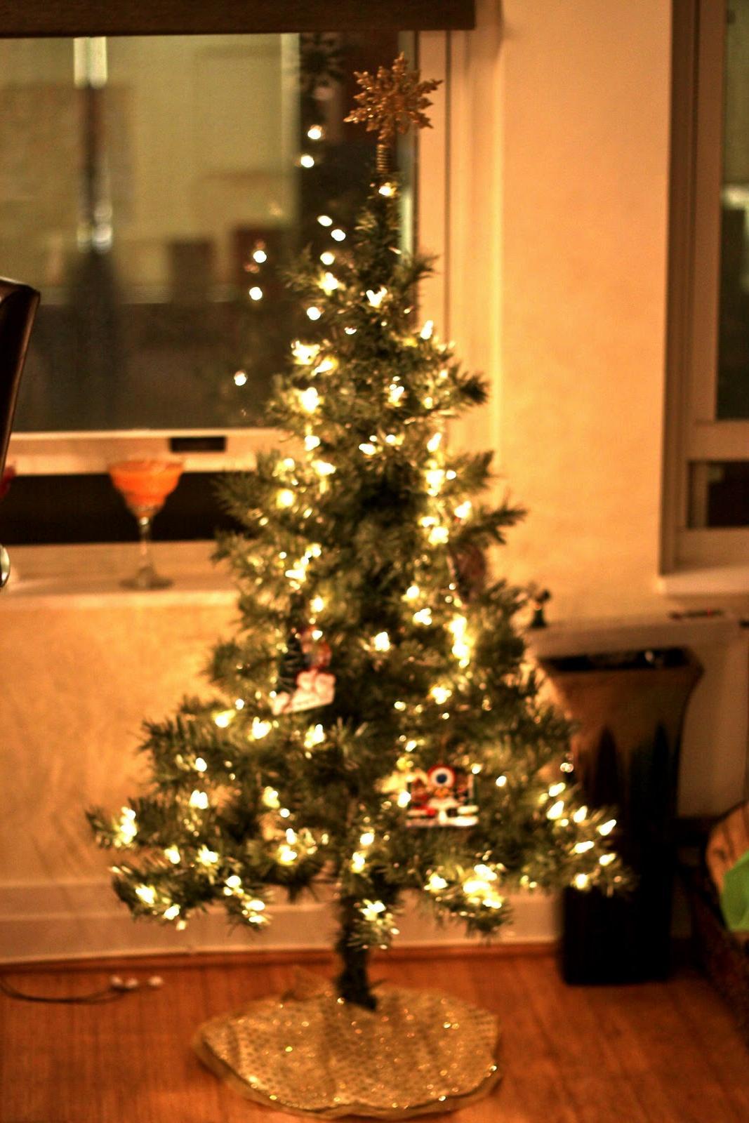 snowflake and tree skirt!