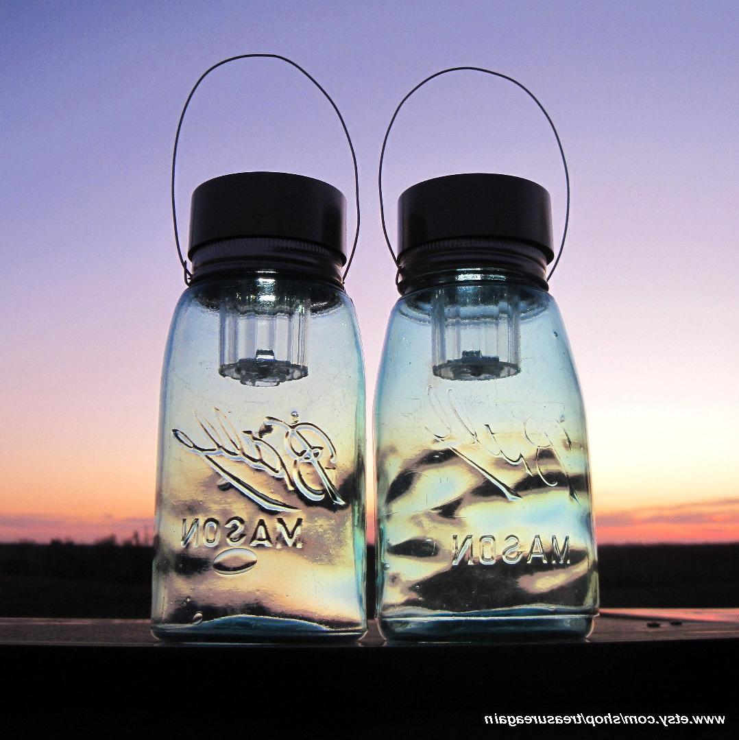 Ball Mason Jar Lanterns,