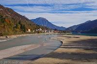 Der Ort Barcis mit dem gleichnamigen Lago.