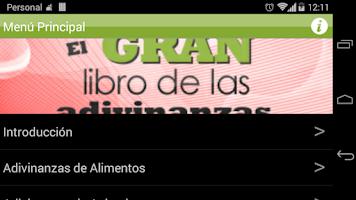 Screenshot of El Libro de las Adivinanzas