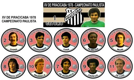 254 - XV de Piracicaba 1978 - Campeonato Paulista