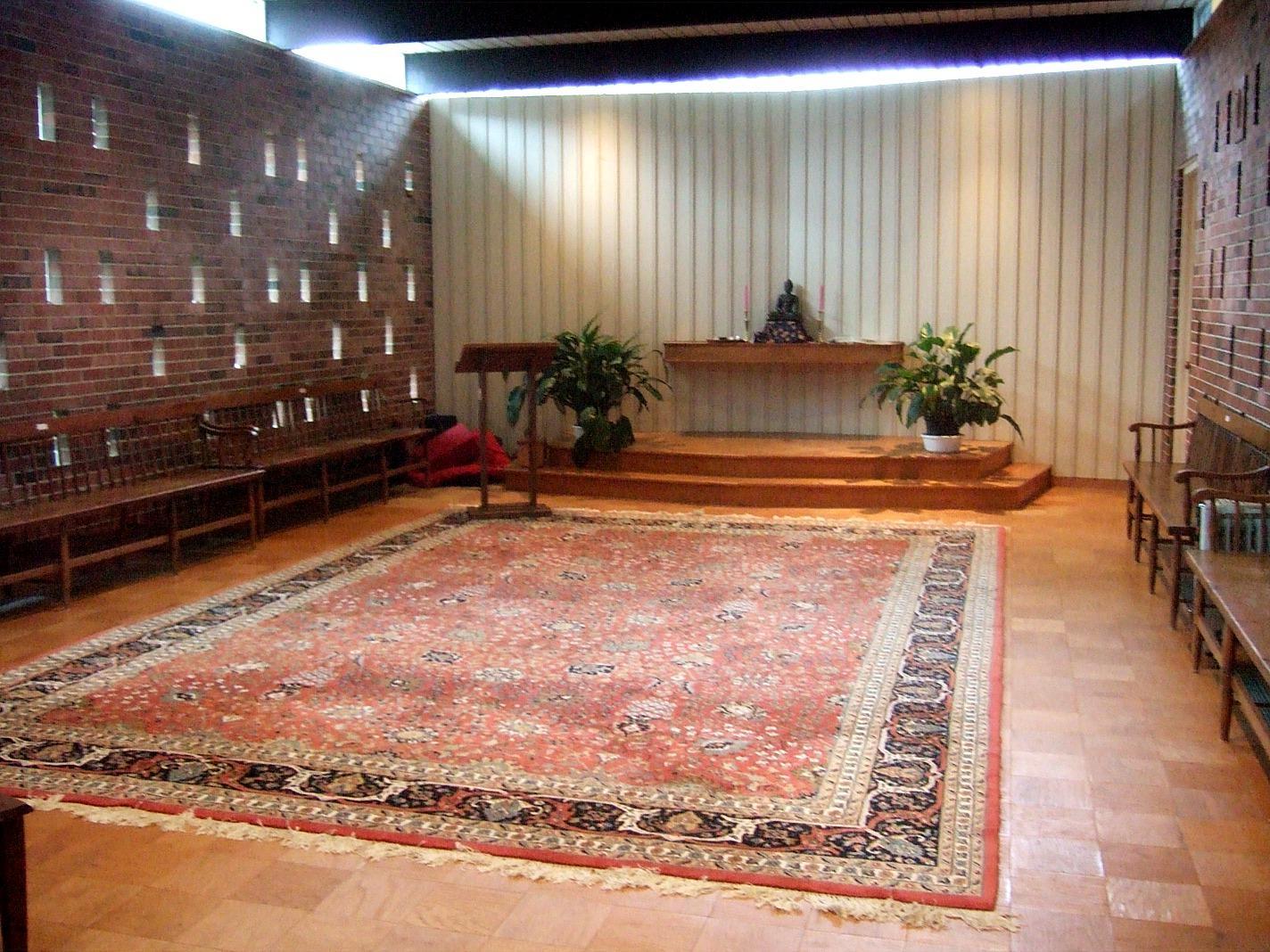 Chapel  maximum capacity: 40