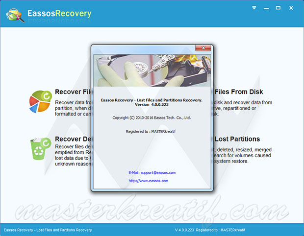 Eassos Recovery 4