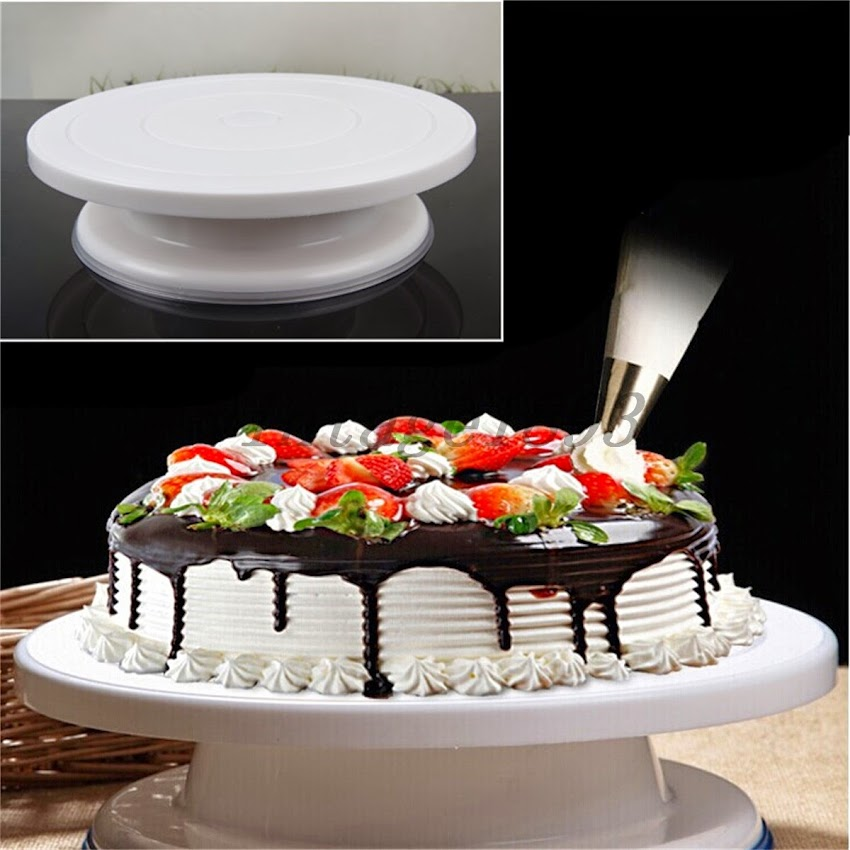 Kitchen Design Cake: Cake Decorating Turnplate Stands Pastry Cream Baking Tools