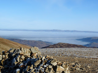 Lots of fog in the Ullswater valley now!!