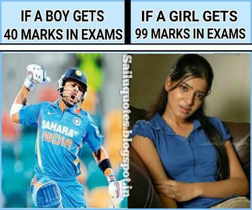 Funny Diffrence Between Boys And Girls