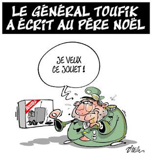 Le général toufik a écrit au père Noel