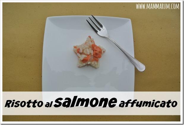 ricetta risotto salmone affumicato
