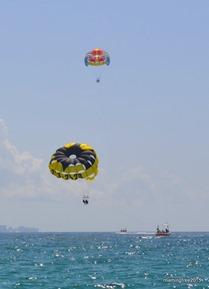 More parasailers