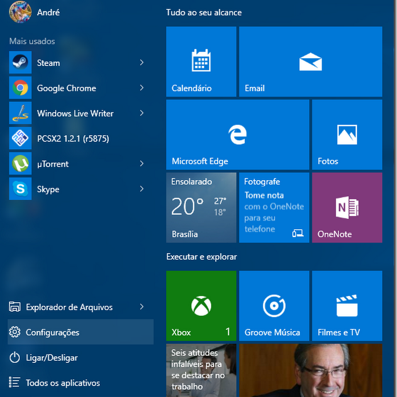 Windows 10: Como alterar o nome do computador