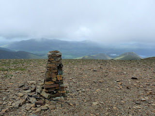 Crag Hill Summit Trig Pillar.