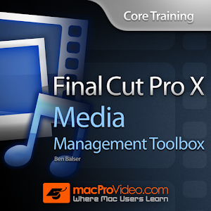 Course For FCP X Media Toolbox  1.1