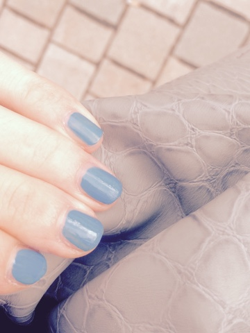 fashion, blog, nails, blue
