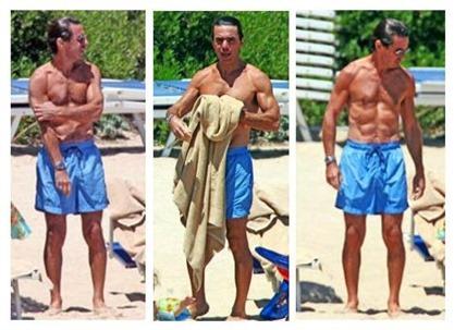 Aznar y sus abdominales 3