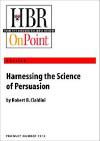 Cover of Robert Cialdini's Book Harnessing The Science Of Persuasion