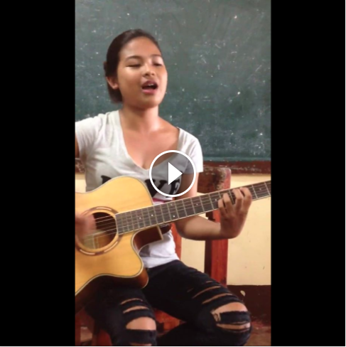 Image of J-Nissi Elisha Calibo Viral Teen Filipina With Beauty and Talent Identified