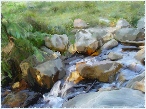 "The ""Mountain  Stream"" piece from the ""2003"" collection"