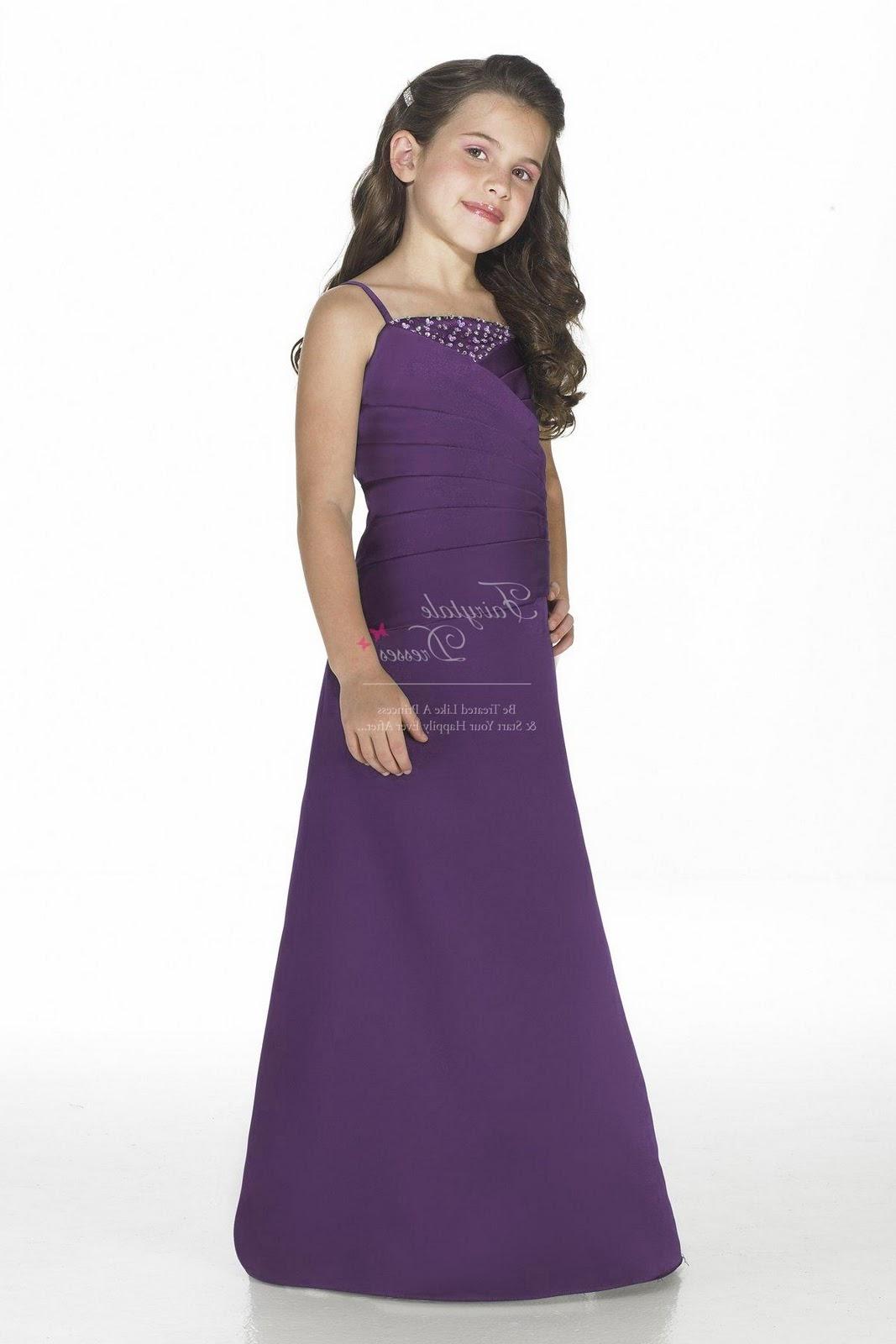 Cadbury Purple Bridesmaid